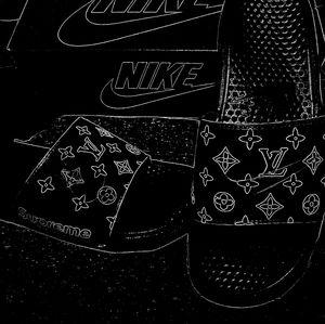 Nike custom slides